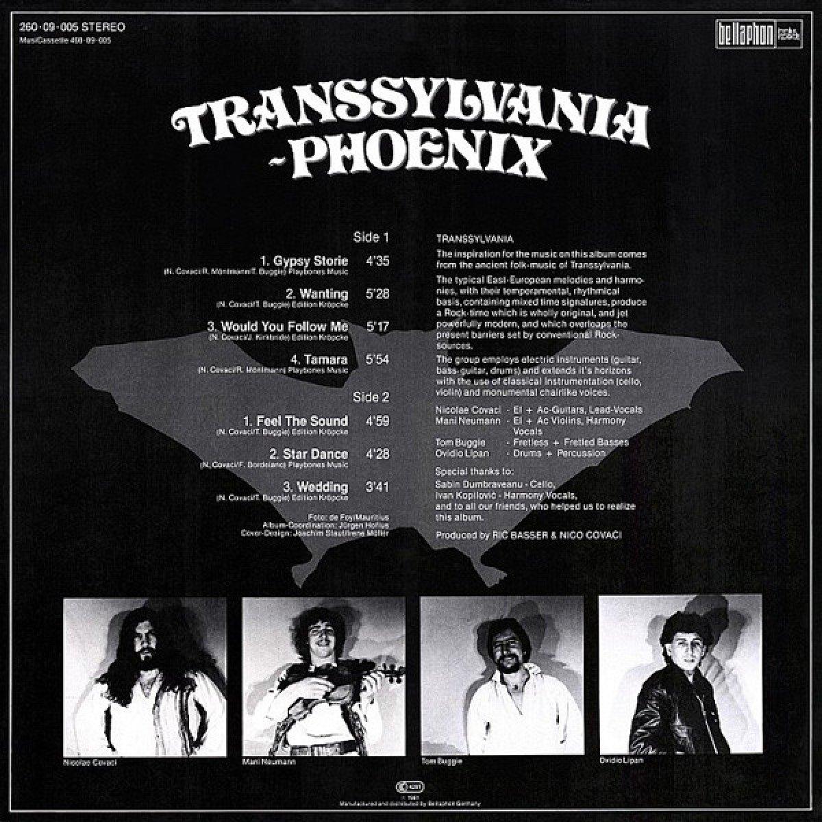 """Phoenix """"Transsylvania - Phoenix"""""""