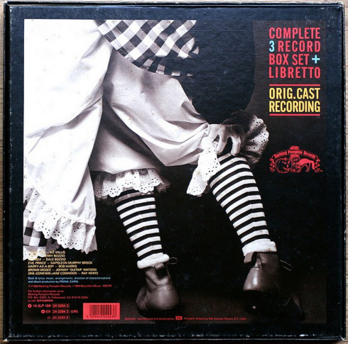 "Frank Zappa ""Thing-Fish"" 3 LP Box"