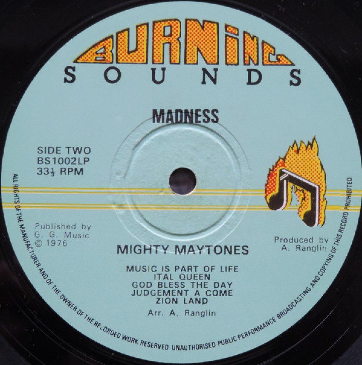 "Mighty Maytones ""Madness"""