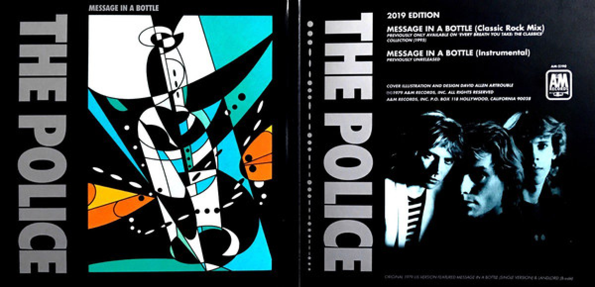 """The Police """"Message In The Botle"""" 2X7"""" RSD"""