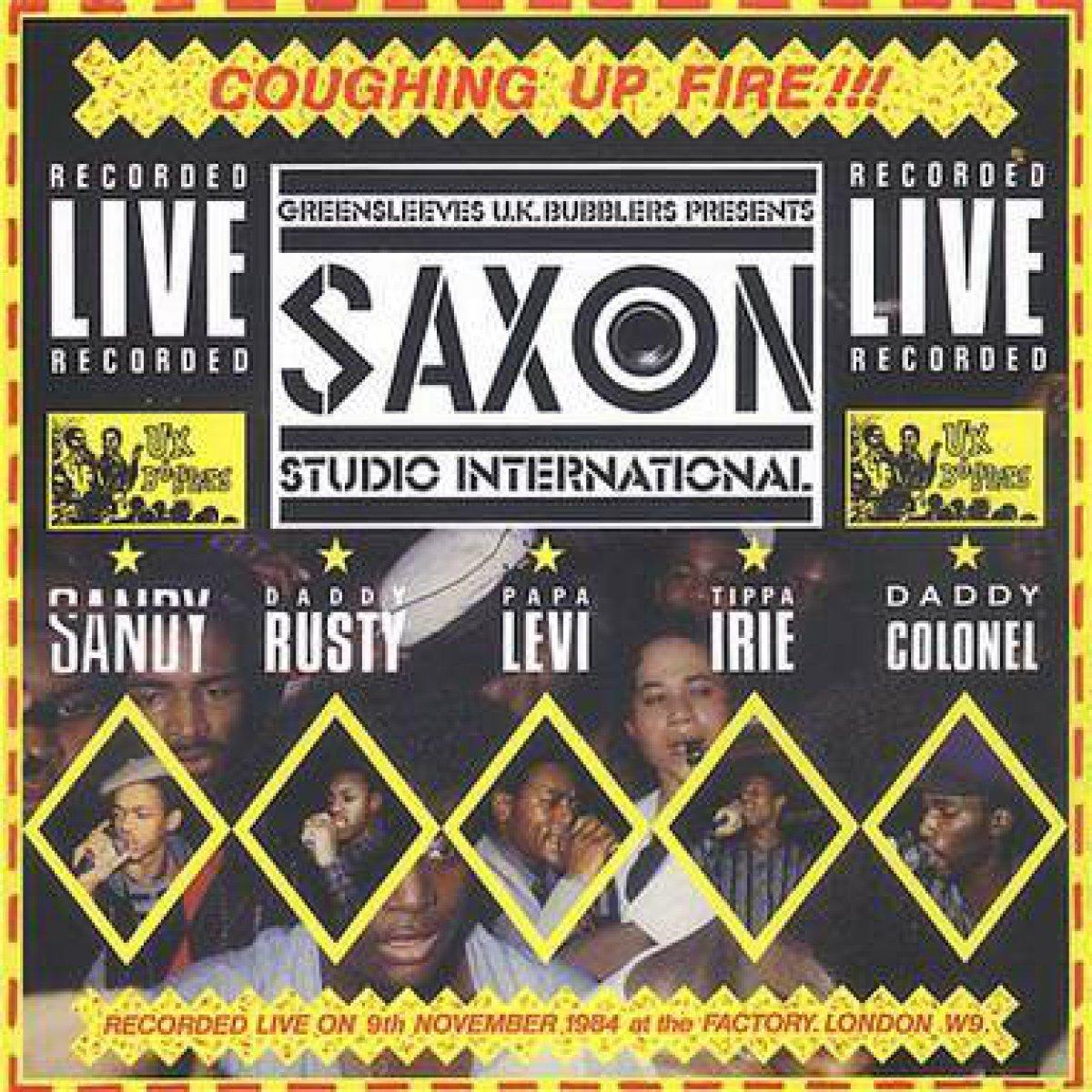 "Various ""Saxon Studio International Coughing Up Fire"""