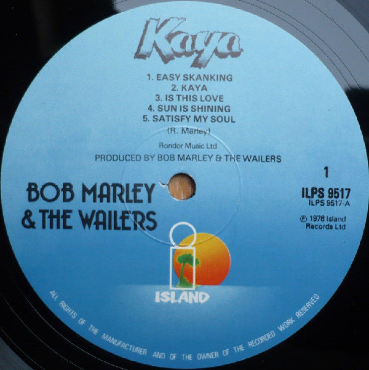 "Bob Marley & The Wailers ""Kaya"""