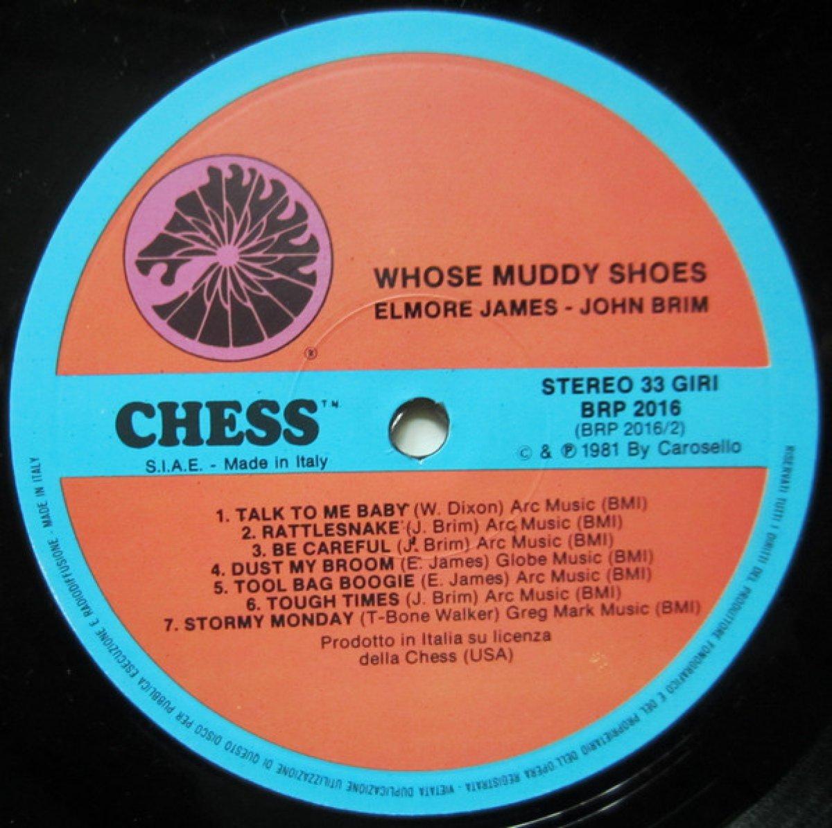 "Elmore James / John Brim ""Whose Muddy Shoes"""