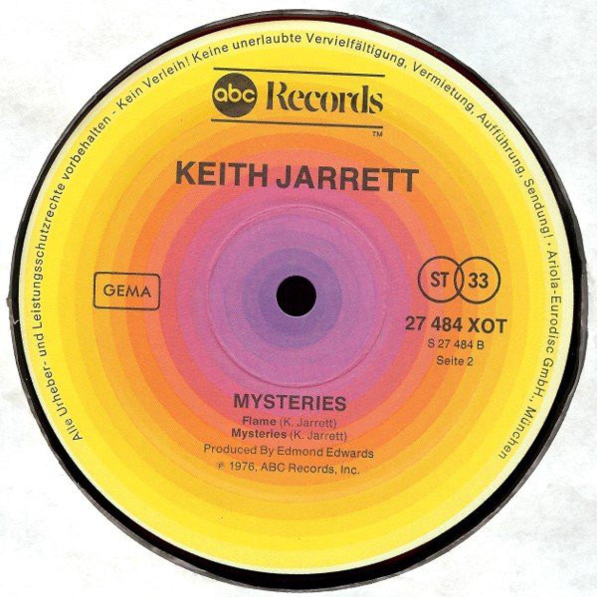 """Keith Jarrett """"Mysteries"""""""