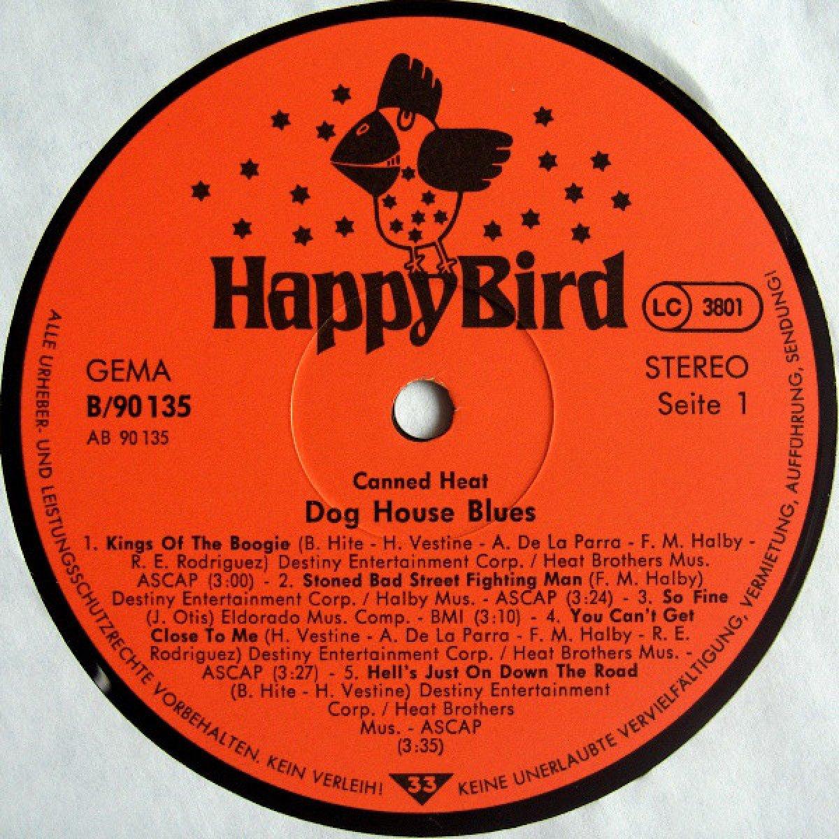 "Canned Heat ""Dog House Blues"""
