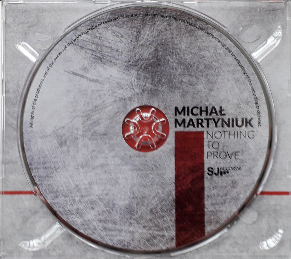 """Michał Martyniuk """"Nothing To Prove"""""""