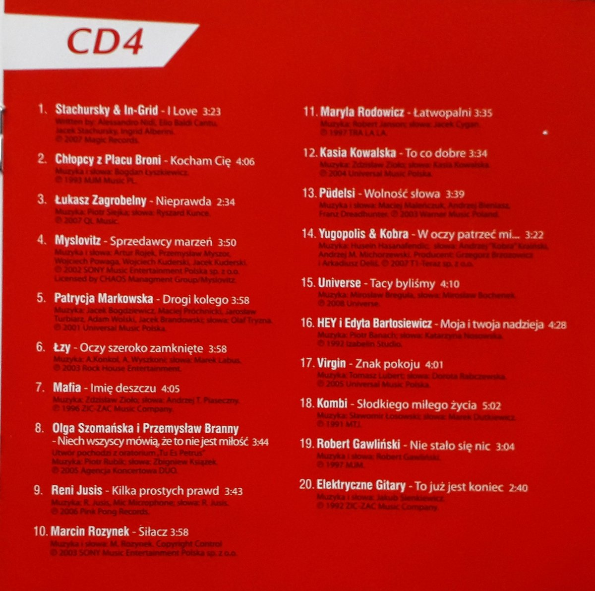 "Various ""RMF FM Najlepsza Muzyka Po Polsku 2"""