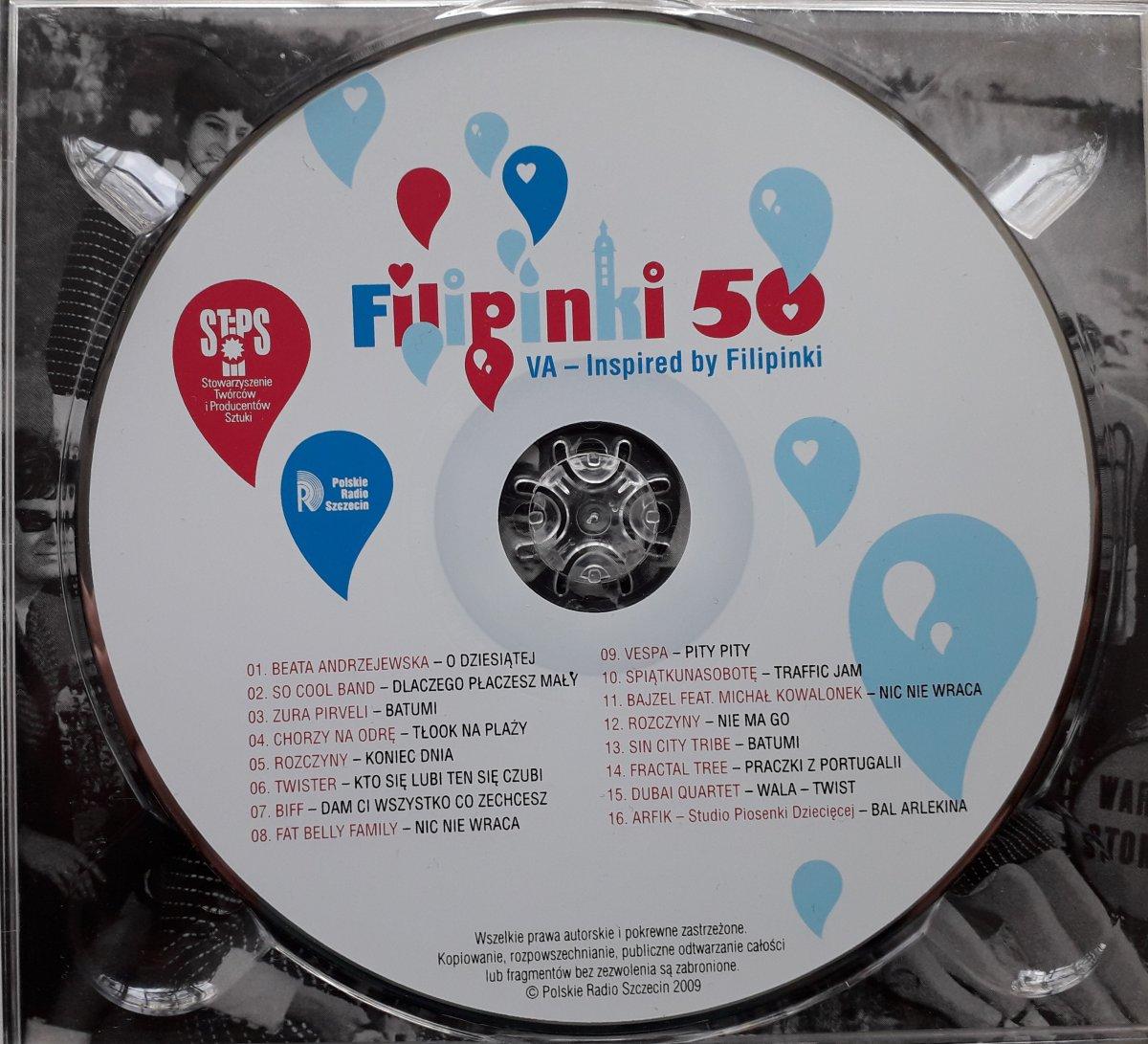"""Various """"Filipinki 50. Inspired By Filipinki"""""""