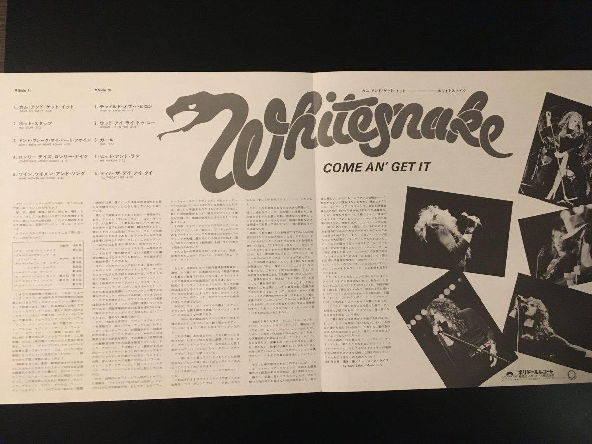 Whitesnake- Come em'get It