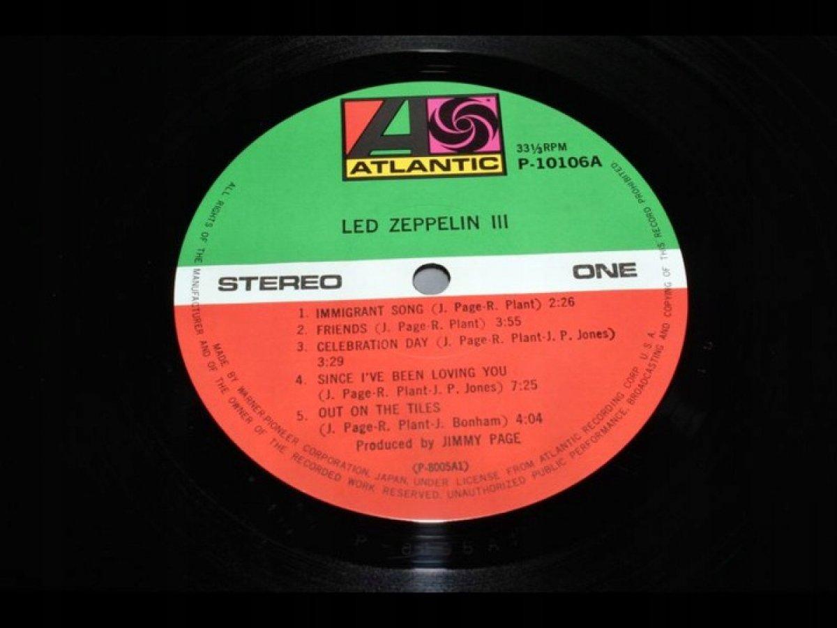 LED ZEPPELIN Led Zeppelin III