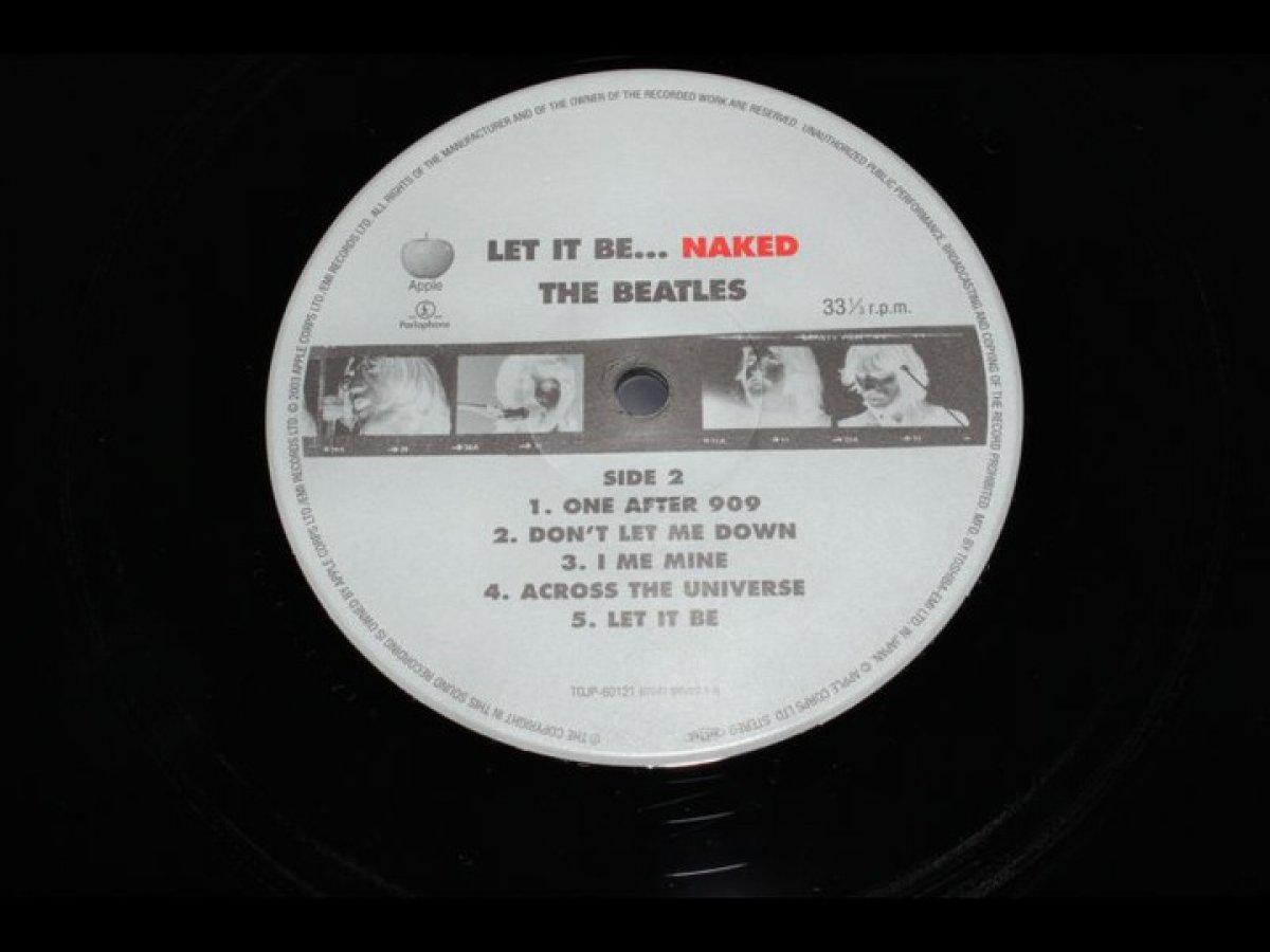 BEATLES Let It Be...Naked **NM**JAPAN**SUPER**
