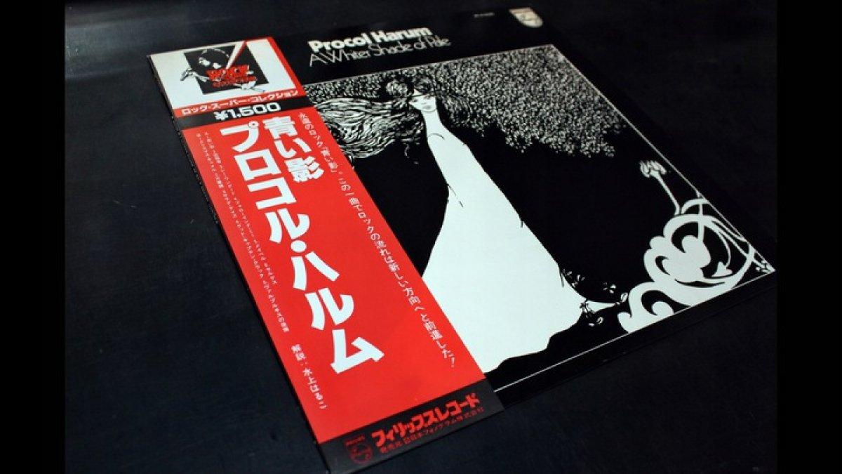 PROCOL HARUM A White Shad of Pale **NM**JAPAN**