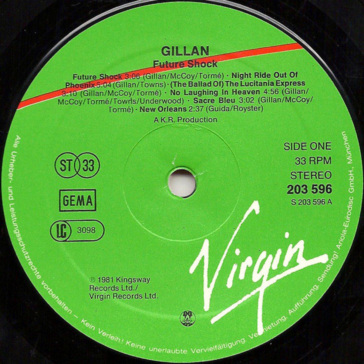 Gillan – Future Shock