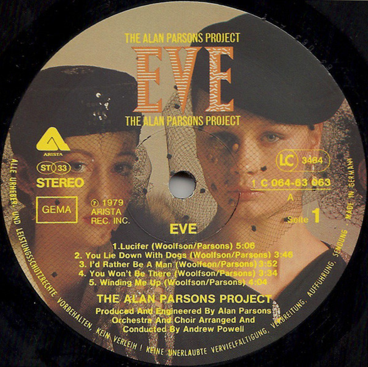 The Alan Parsons Project – Eve