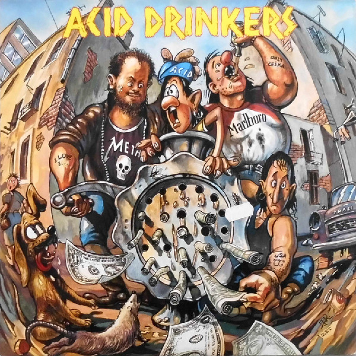 Acid Drinkers – Dirty Money, Dirty Tricks