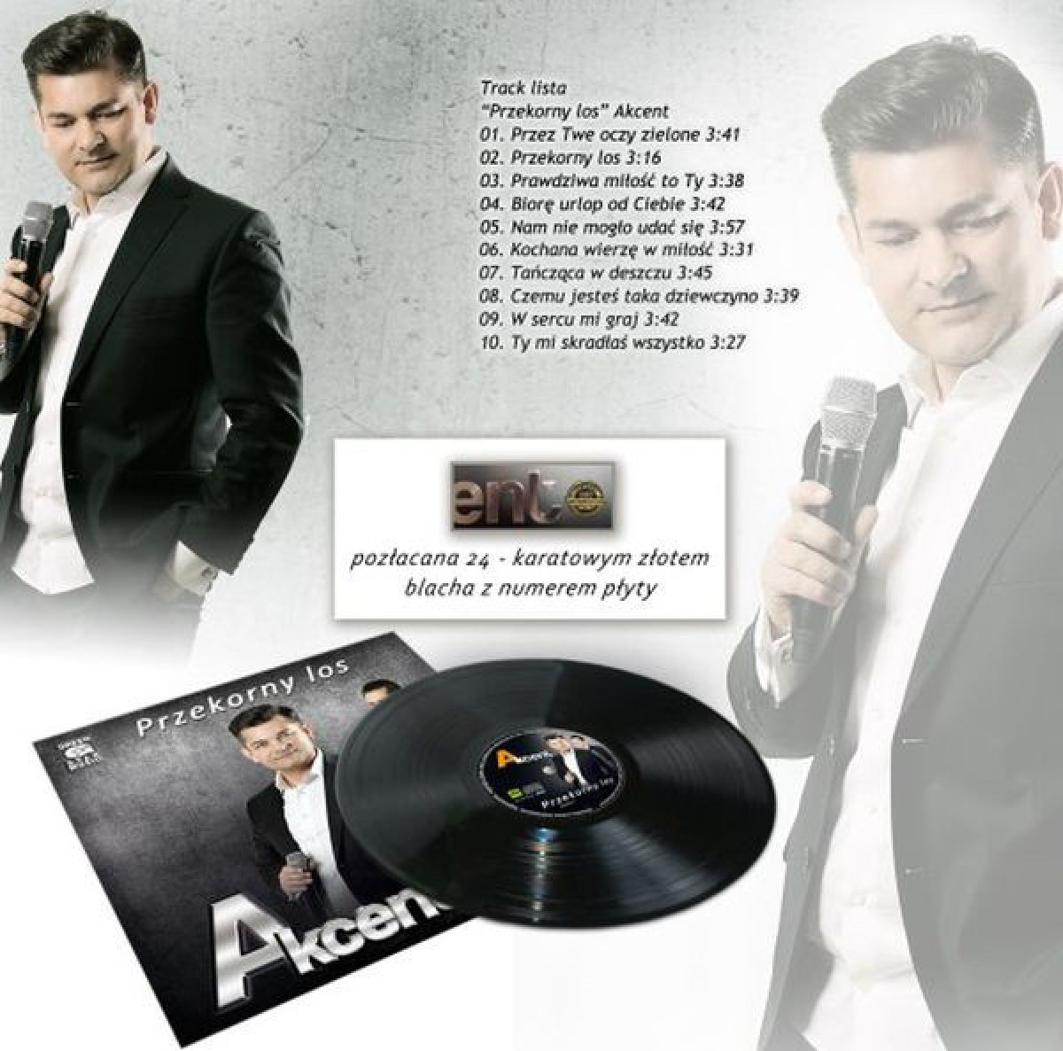 Akcent – Przekorny Los (Limited Edition, Numbered, No. 078)