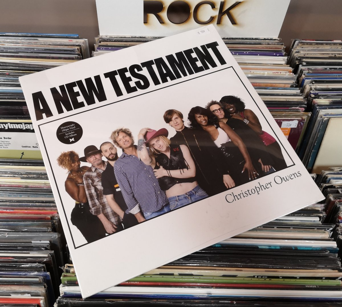 Christopher Owens - A New Testament + CD, 2014r. UK
