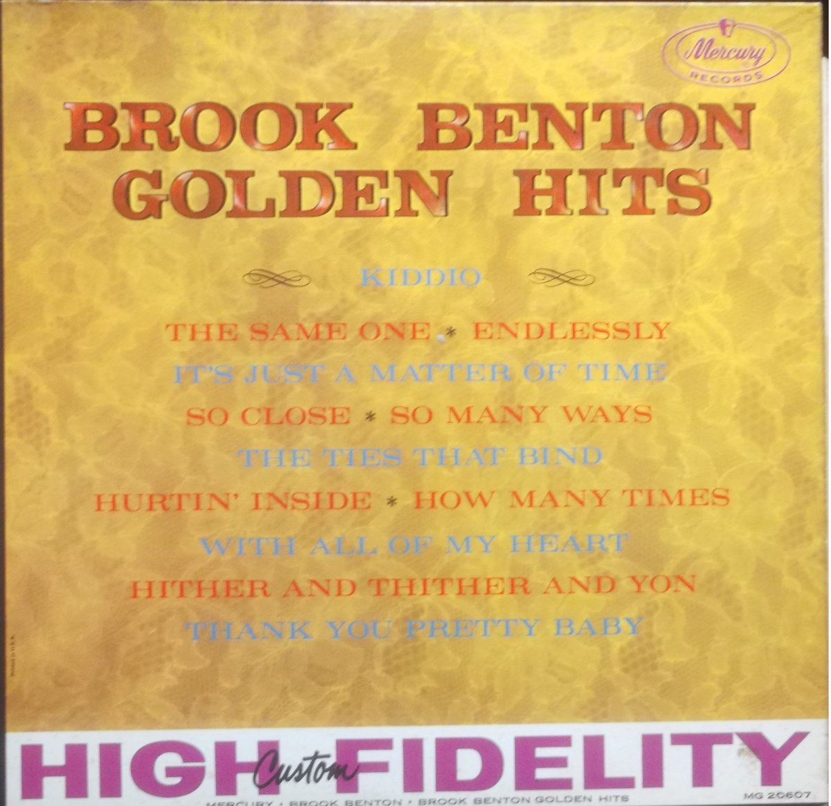 Brook Benton ‎– Golden Hits