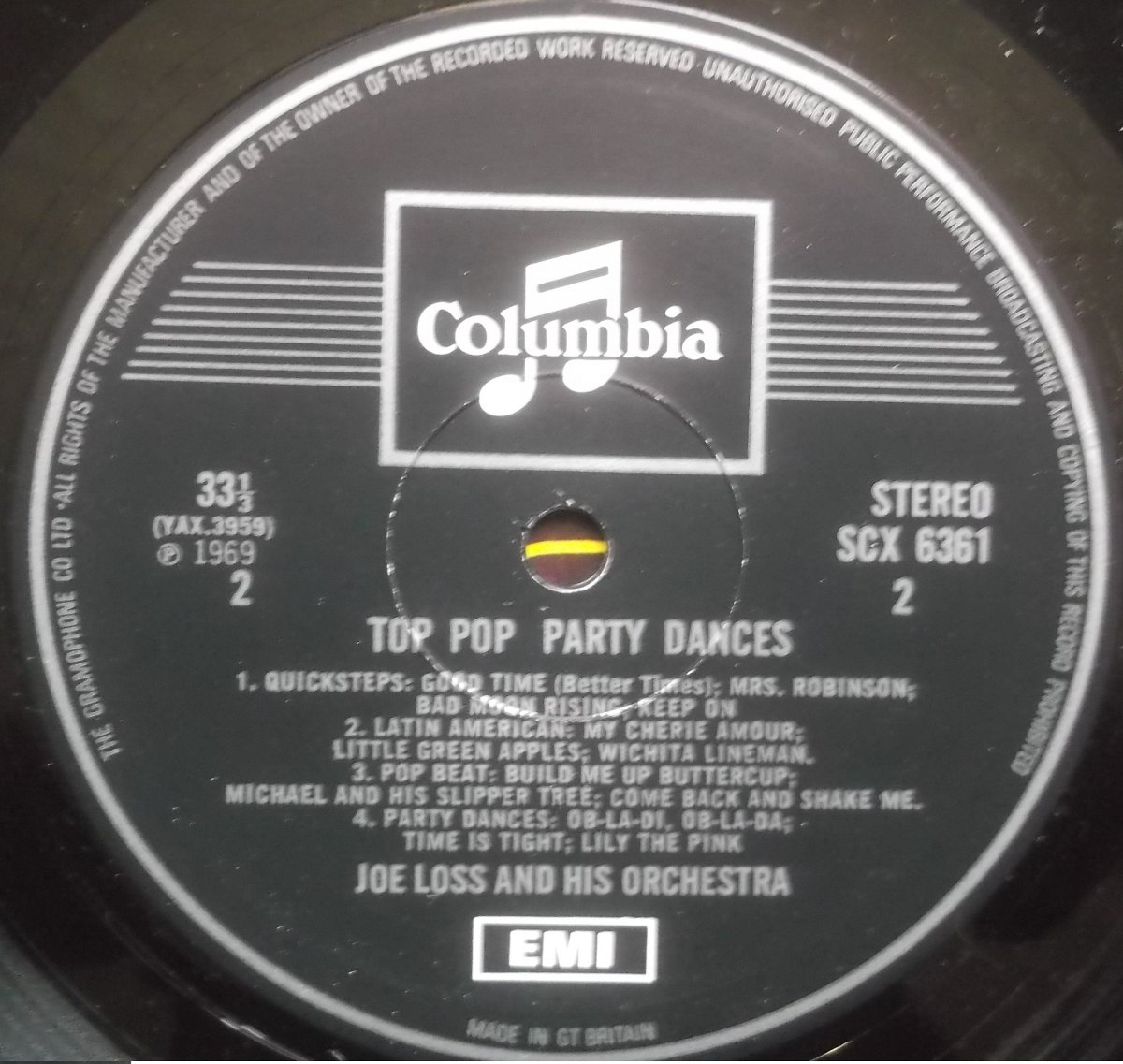 Joe Loss And His Orchestra – Top Pop Party Dances