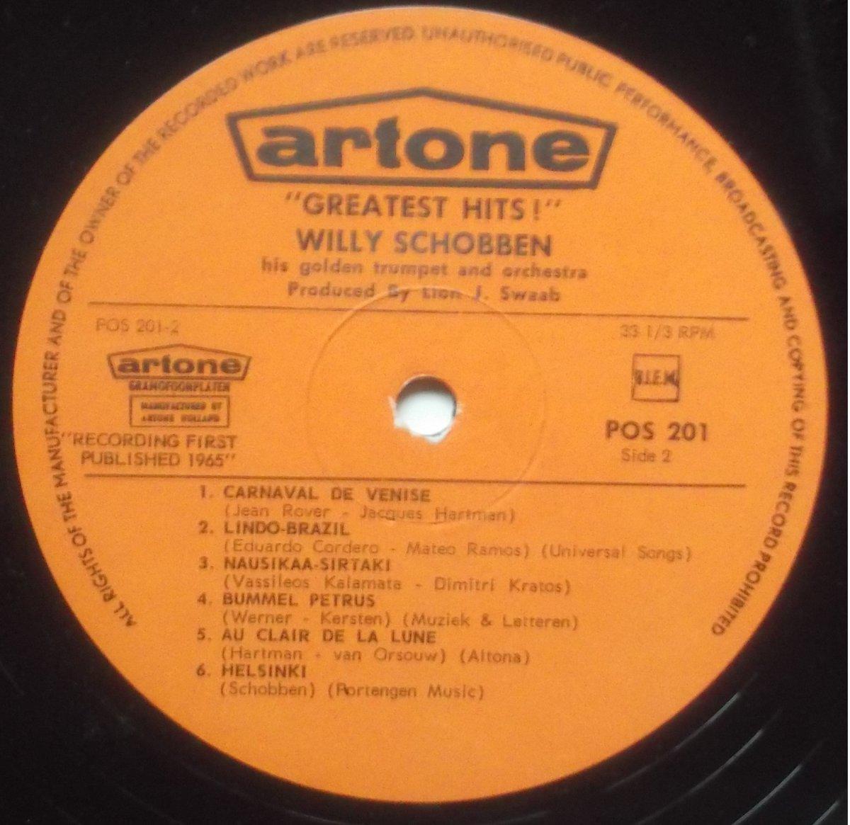 Willy Schobben His Golden Trumpet & Orchestra