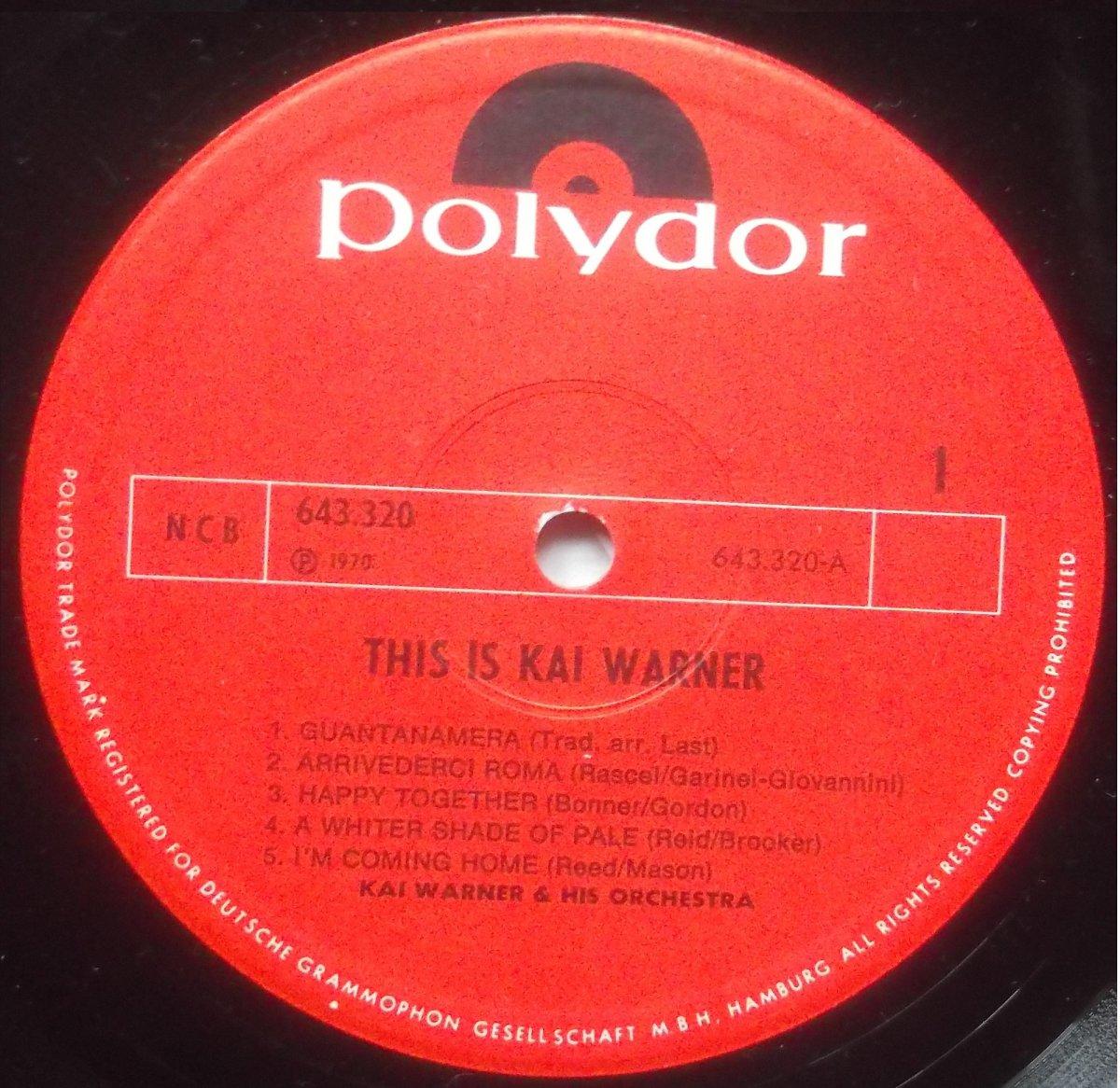 Kai Warner – This Is Kai Warner