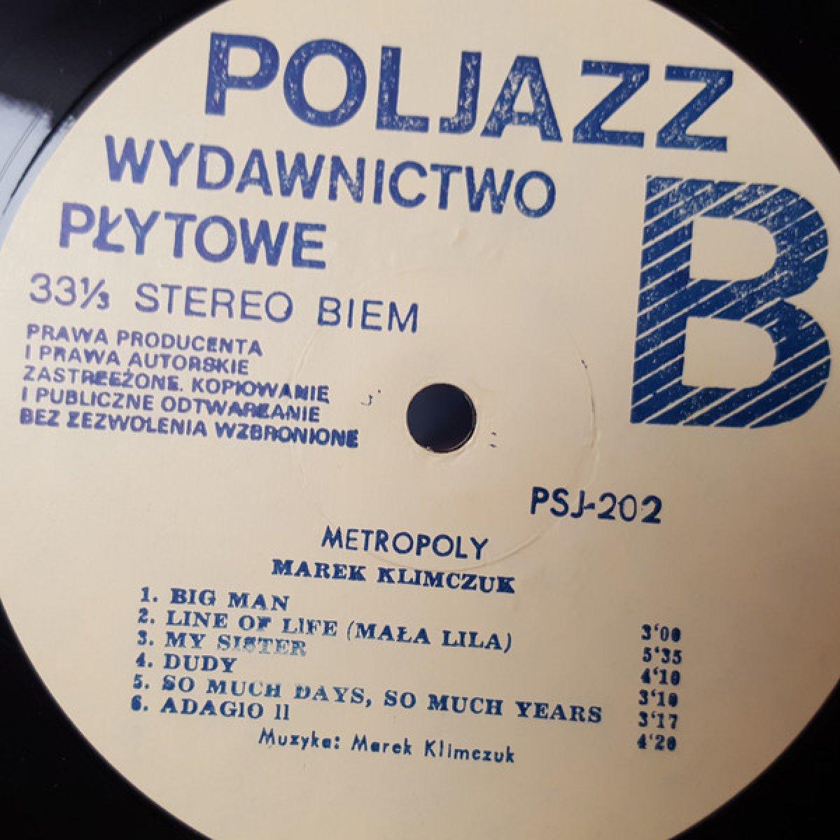 Marek Klimczuk – Metropoly (Klimczuk, Urbaniak, Ścierański, Chojnacki, Andrzejewska)