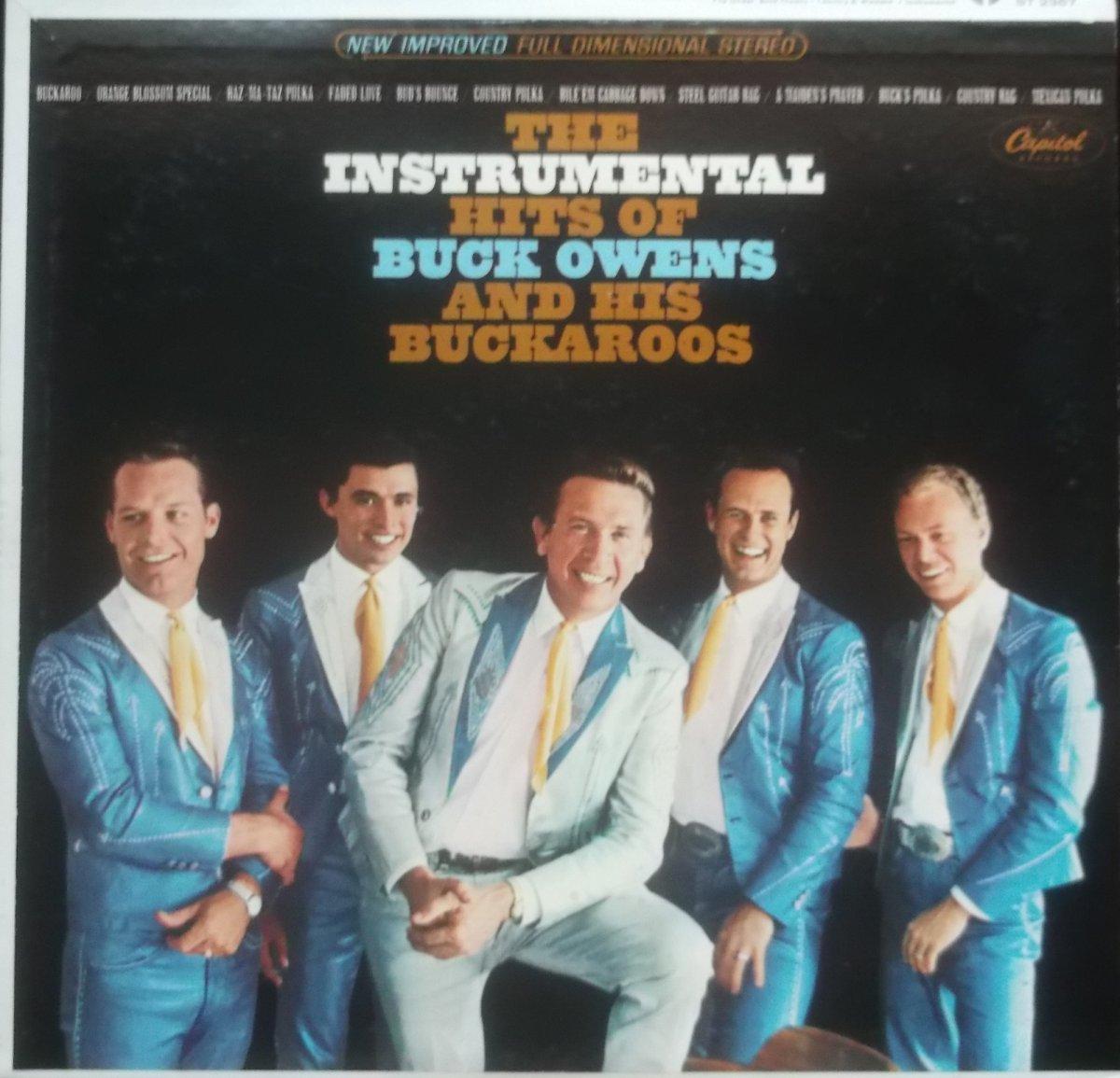 Buck Owens And His Buckaroos – The Instrumental Hits Of Buck Owens And His Buckaroos