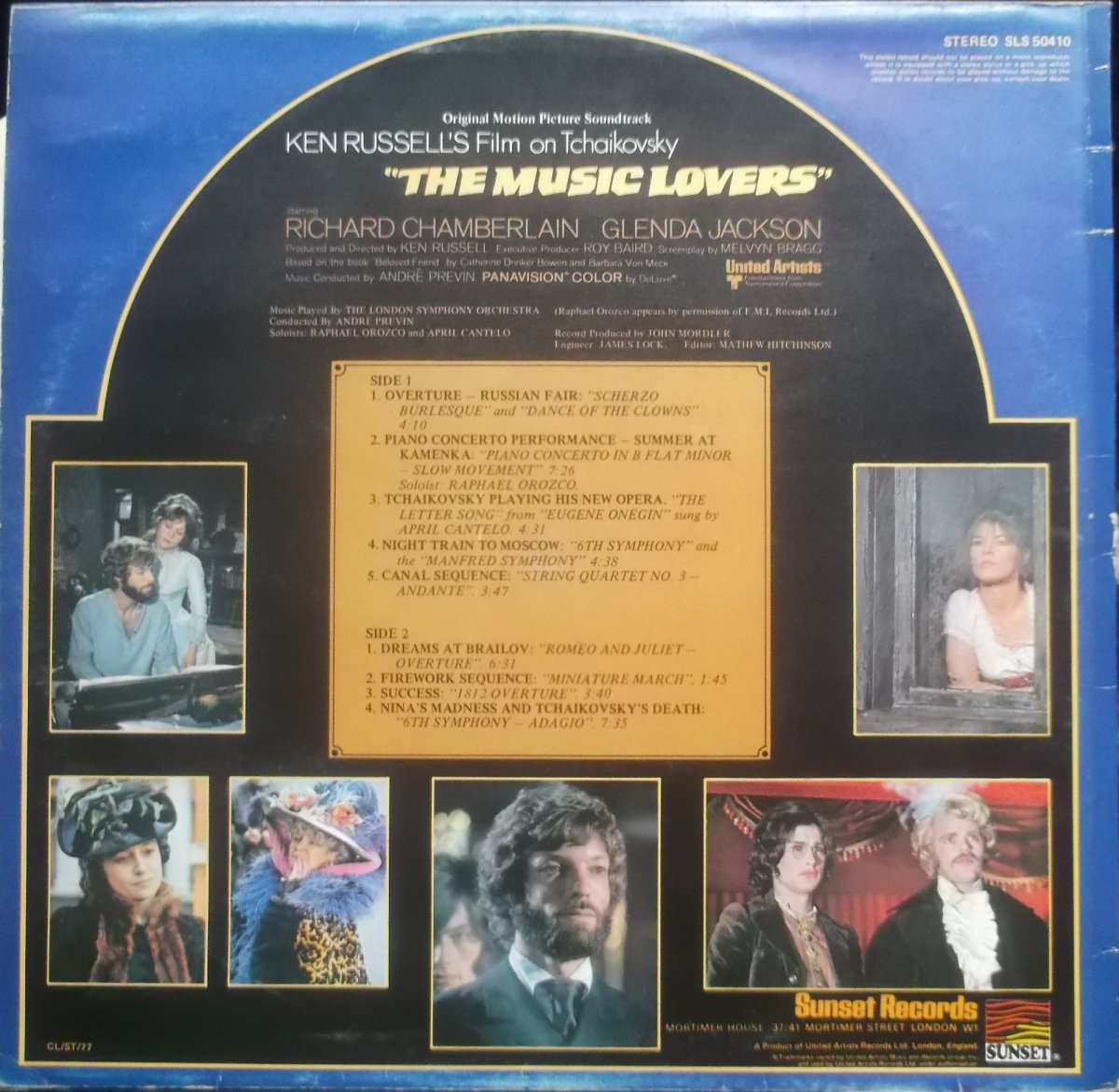 The Music Lovers - Original Motion Picture Soundtrack