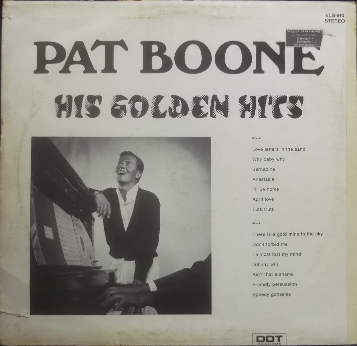 Pat Boone – His Golden Hits