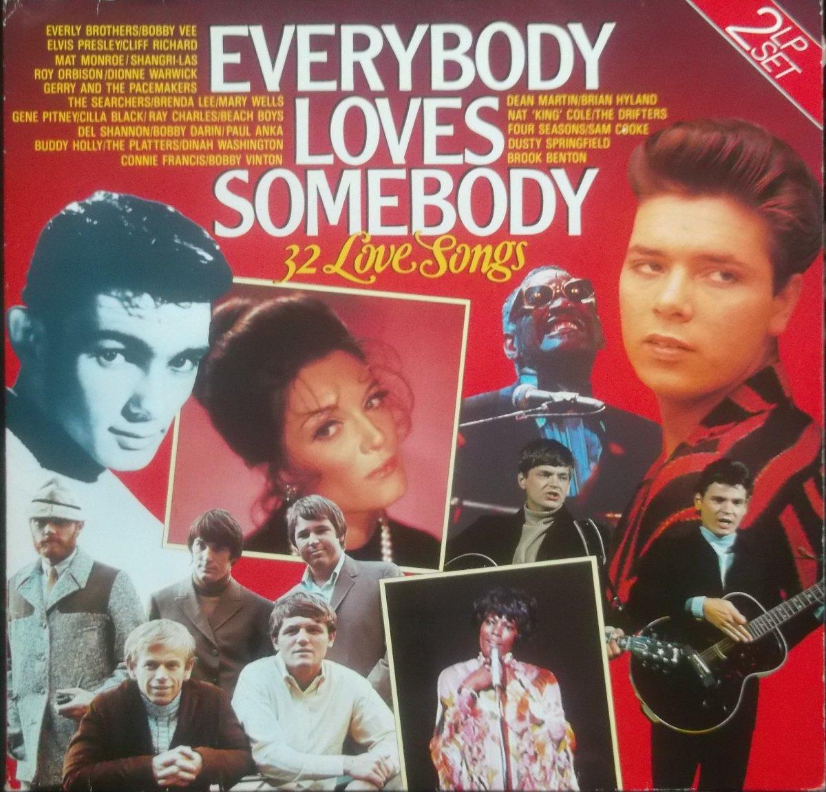 Various – Everybody Loves Somebody, 32 Love Songs 2xLP