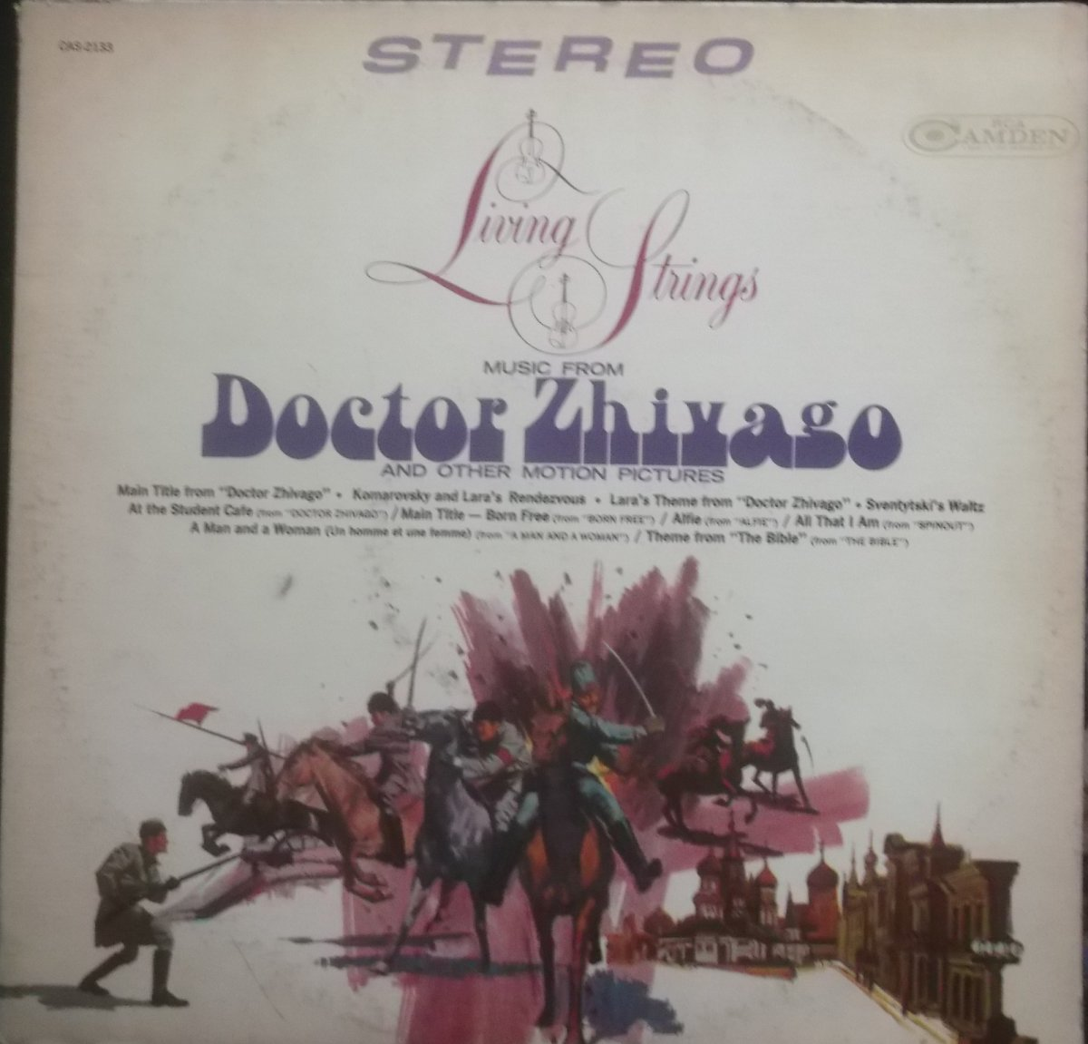 Living Strings – Music From Doctor Zhivago And Other Motion Pictures