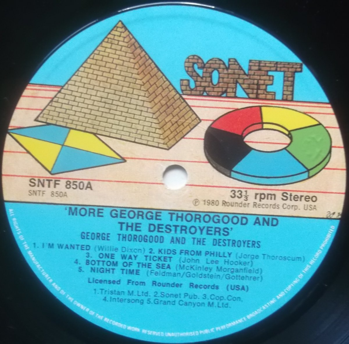 George Thorogood And The Destroyers – More George Thorogood And The Destroyers