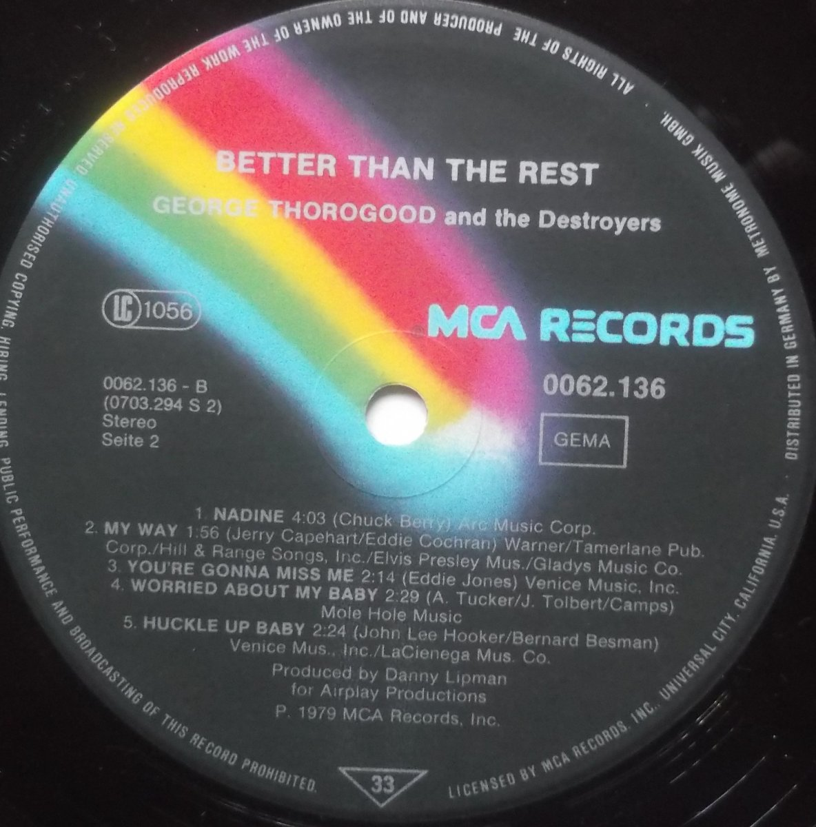 George Thorogood And The Destroyers – Better Than The Rest