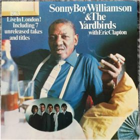 "Sonny Boy Williamson & The Yardbirds with Eric Clapton ""1963 Live In London! Including 7..."""