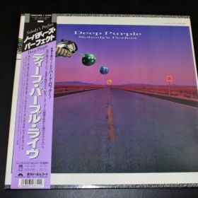 DEEP PURPLE Nobody's Perfect **2LP**NM/NM**JAPAN**