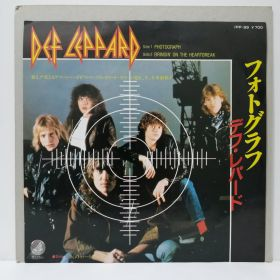 DEF LEPPARD / PHOTOGRAPH JAPAN 7""
