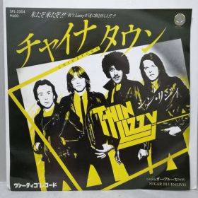 THIN LIZZY / CHINATOWN JAPAN 7""