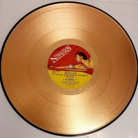 METALLICA - CREEPING DEATH UK ANNIVERSARY ISSUE GOLD VINYL 12INCH