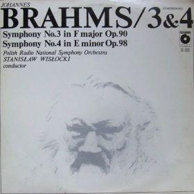 Johannes Brahms, Polish Radio National Symphony Orchestra, Stanislaw Wislocki – Symphonies 3 & 4