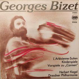 """Georges Bizet - Herbert Kegel, Dresdner Philharmonie – L'Arlésienne-Suiten / Kinderspiele / Vorspiele Zu """"Carmen"""""""