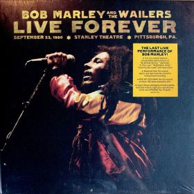 Bob Marley And The Wailers – Live Forever: The Stanley Theatre, Pittsburgh, PA, September 23, 1980 (BOX SET Limited Edition 2 × CD, 3 × Vinyl 180g)