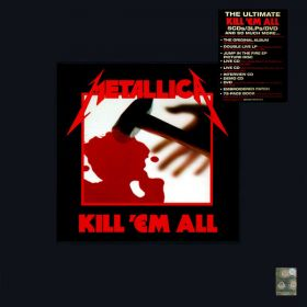 Metallica ‎– Kill 'Em All (BOX SET Deluxe & Limited Edition)