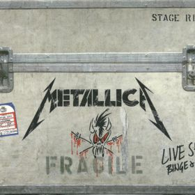 Metallica ‎– Live Shit: Binge & Purge (BOX SET 3 x CD + 3 x VHS)