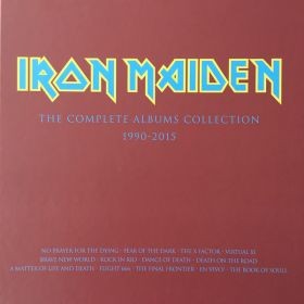 Iron Maiden ‎– The Complete Albums Collection 1990-2015 (BOX SET 3LP Limited Edition - No Prayer For The Dying & Fear Of The Dark)