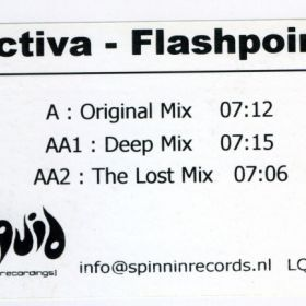Activa ‎– Flashpoint (Test Pressing)
