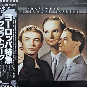 Kraftwerk – Trans-Europe Express (Japońskie wydanie + OBI + Insert!)