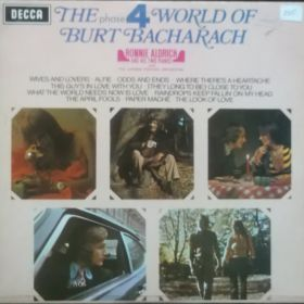 Ronnie Aldrich And His Two Pianos – The World Of Burt Bacharach
