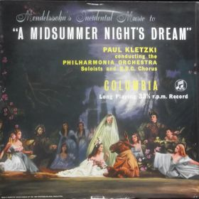 Felix Mendelssohn-Bartholdy - A Midsummer Night's Dream MONO