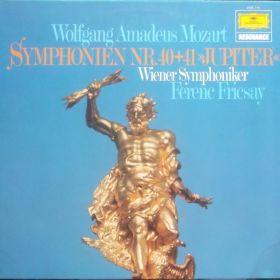 Wolfgang Amadeus Mozart – Symfonia nr.40, Symfonia nr.41