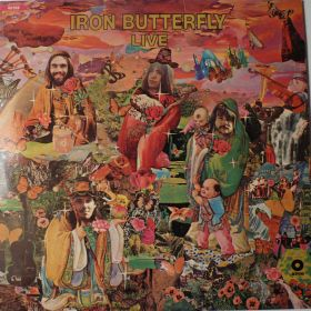 """Iron Butterfly """"Live"""""""
